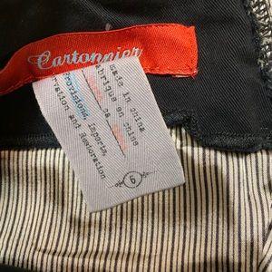 Anthropologie Pants - Anthro Cartonnier Black Wide Leg Cuff Sailor Pant
